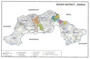 Boudh District ac and pc Map