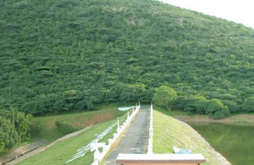 Ponnaniyar Dam-Side View