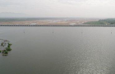 Mayanur Barrage-Aerial View