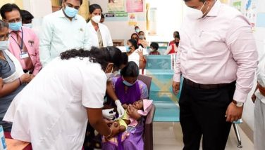 Vaccination Camp.