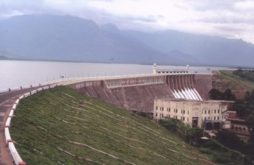 Bhavanisagar Dam left side.view