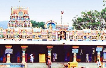 Bannariamman Temple front view.