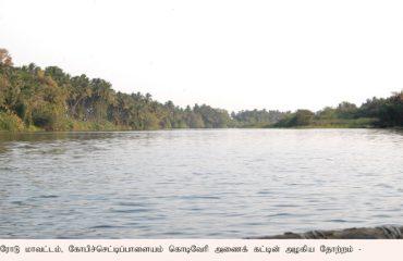 Kodiveri water inside boating place.