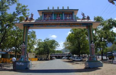 Bannariamman Temple entrance.