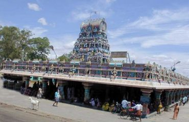 Bannariamman Temple outside view.