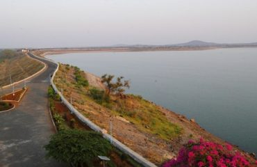 Bhavanisagar Dam right side view.