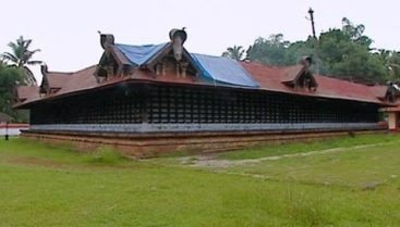 Lokanarkavu temple side view
