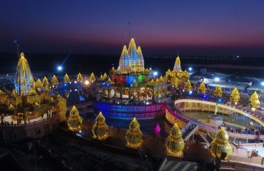 Night Temple view
