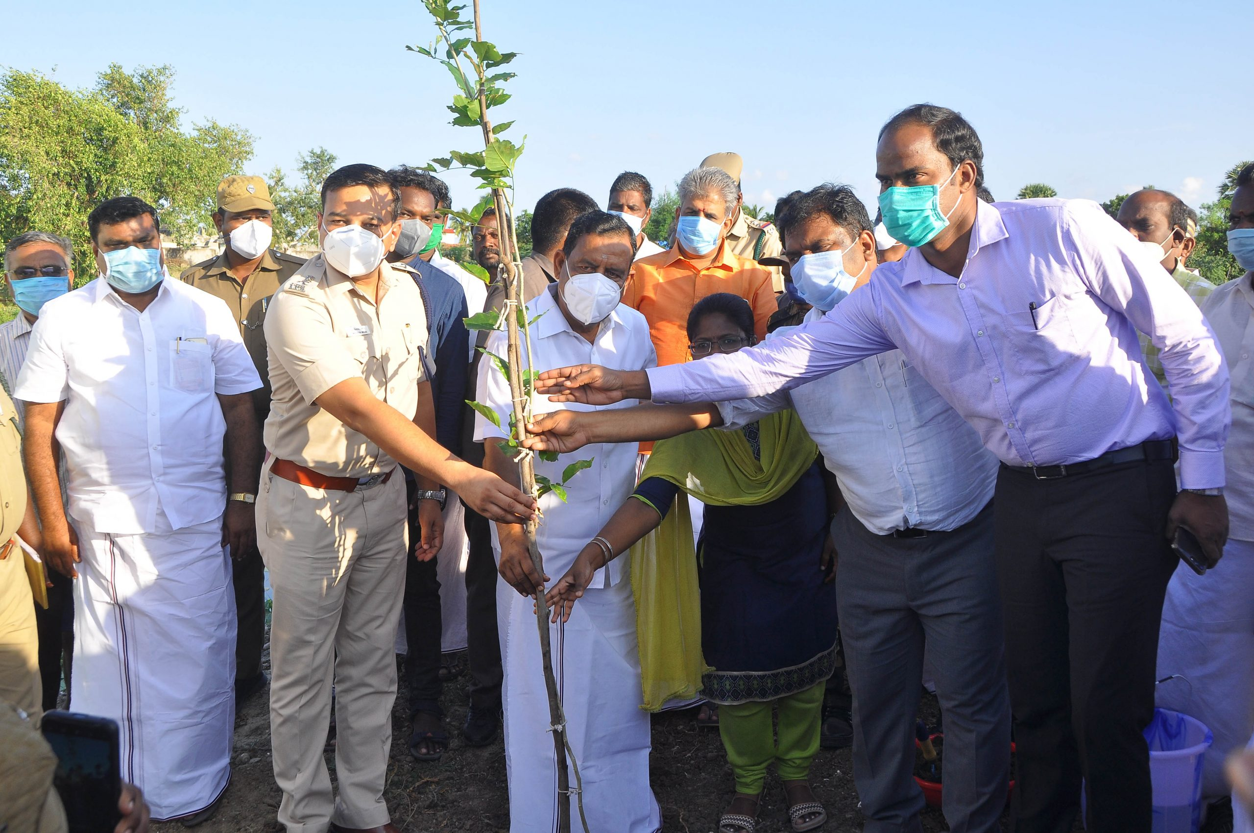 District Collector – Tree Plantation Press News
