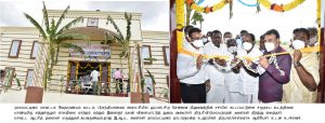 Honerable Sports Minister Opening Community Hall - News and Photos-12.07.2021