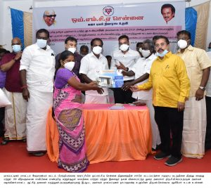 Honerable Sports Minister Opening Community Hall - News & Photos-12.07.2021