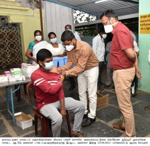 HOURS GH COVID VACCINE CENTER & COVID CAMP INSPECTION NEWS & PHOTOS