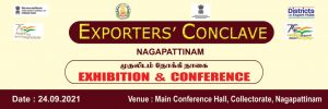 Nagai Exporters Meeting and Exhibition is scheduled to be held tomorrow 24 09 2021 at 10 am at the District Collectorate, Meeting Hall. Exporters Meeting Live Meeting: - https://youtu.be/jrZ4dadFYA8 And EGS Community Radio 90.0 mhz