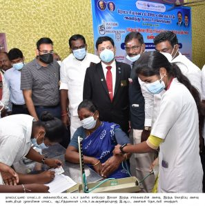 COLLECTOR INSPECTION MEDICAL COLLEGE & ROTARY MEDICAL CAMP PHOTOS