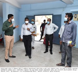 TNCSC THIRUMARUGAL UNION MONITERING OFFICER & COLLECTOR INSPECTION NEWS & PHOTOS-08-10-2021