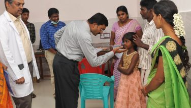 Special Medical camp for differently abled children below 18 years at GH SSA
