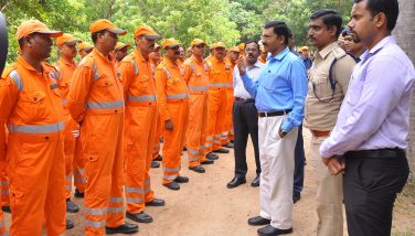 Collector Press Meet -Gaja Cyclone -NDRF