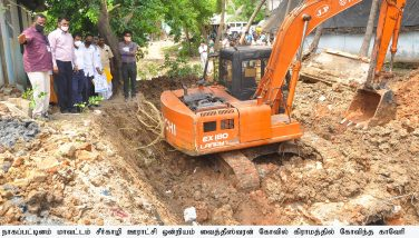 Monitoring Officer's field inspection on Kudimaramathu works – 27.05.2020