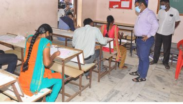 District Collector's inspection on TNPSC Group-I Exam – 03.01.2021
