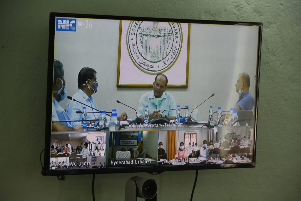 Rythu Vedhikalu Construction Review Meeting By Chief Secretary With District Collectors