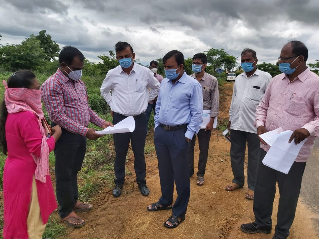 Inspecting Government lands For Special Food Processing Units
