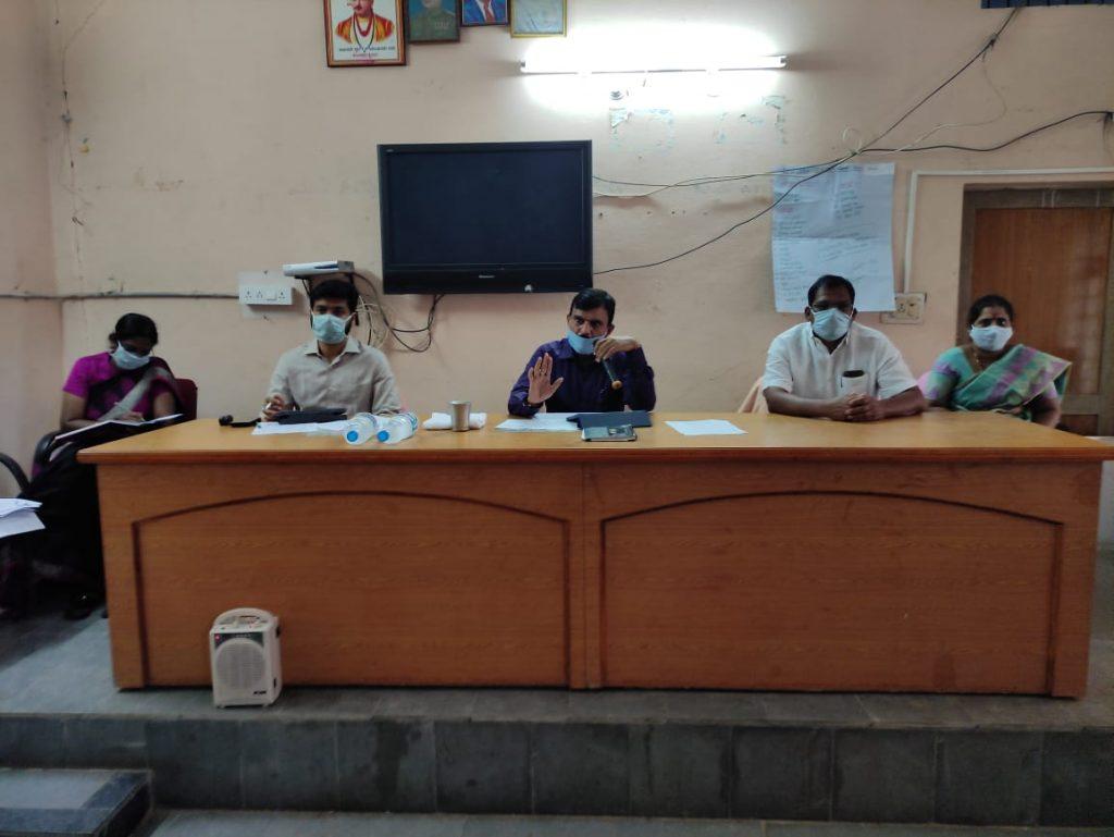 Palle Pragathi Padhi Pramanala Programme Review Meeting in Bhiknoor-District