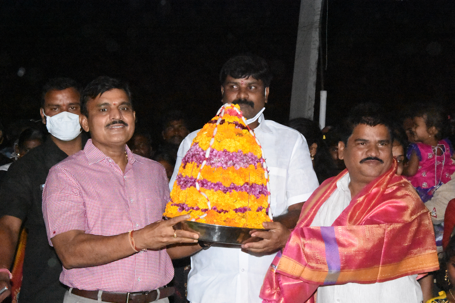 Bathukamma Festival Celebrations in Kamareddy