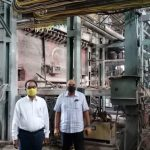 District Officers Vistit to Sugar Factory