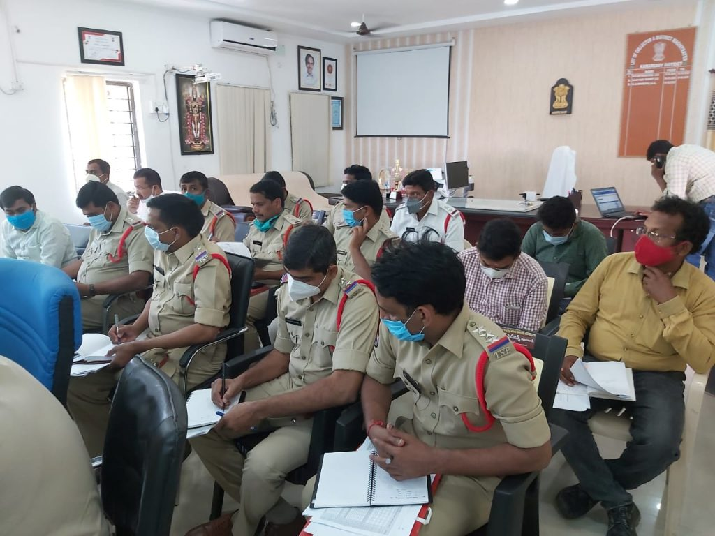 District Collector and Committee Chairman Dr. A.Sharath, IAS directed the District Road Safety Committee officials to prepare an action plan on long-term measures to be taken for the prevention of road accidents.