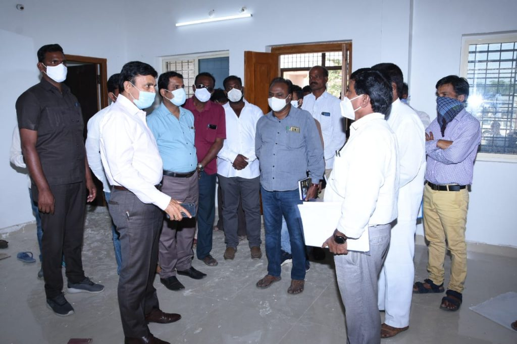Inspection of farmer forums and rural development programs.