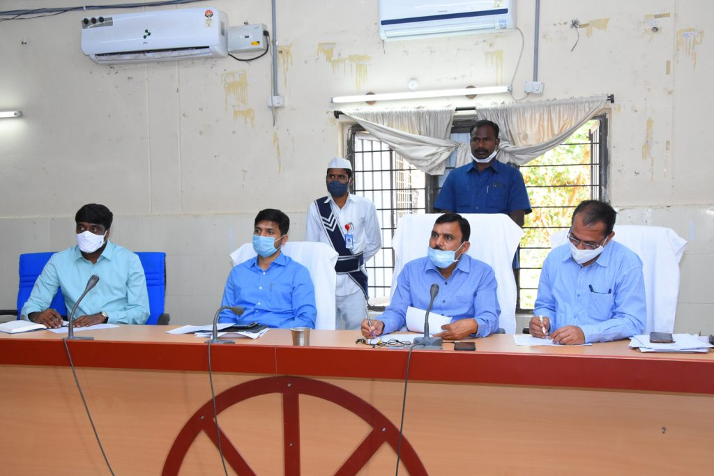 Mission Bhagiratha Review Meeting