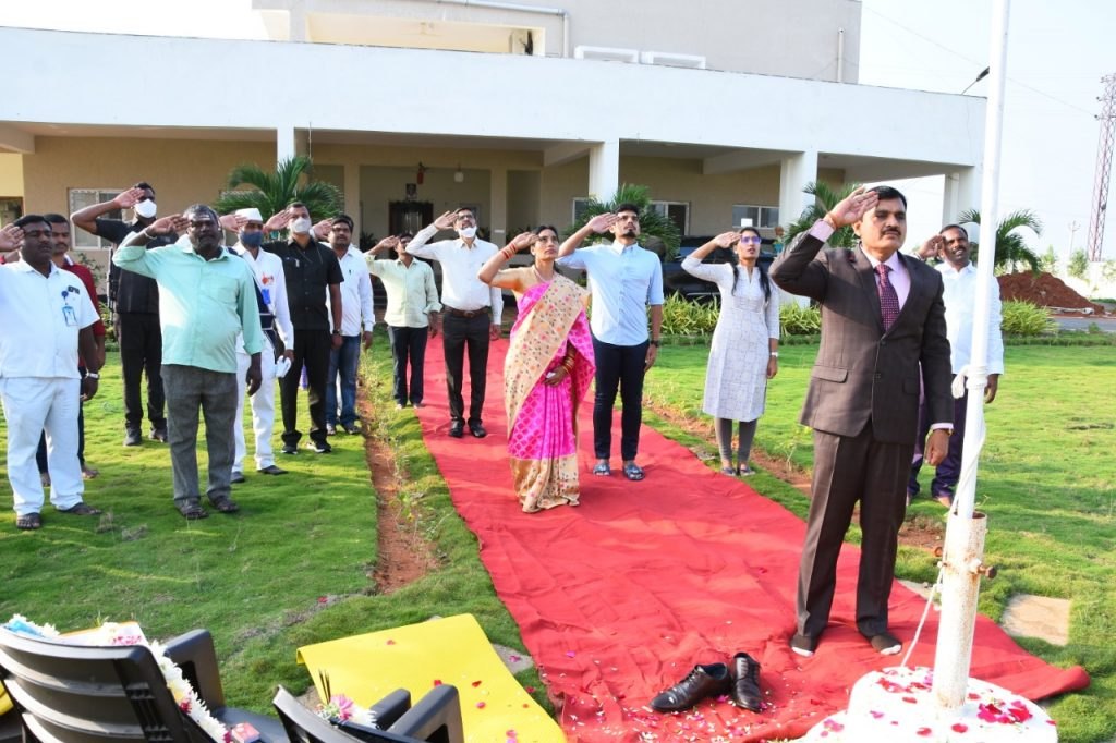 Republic Day Celebrations at Camp Office