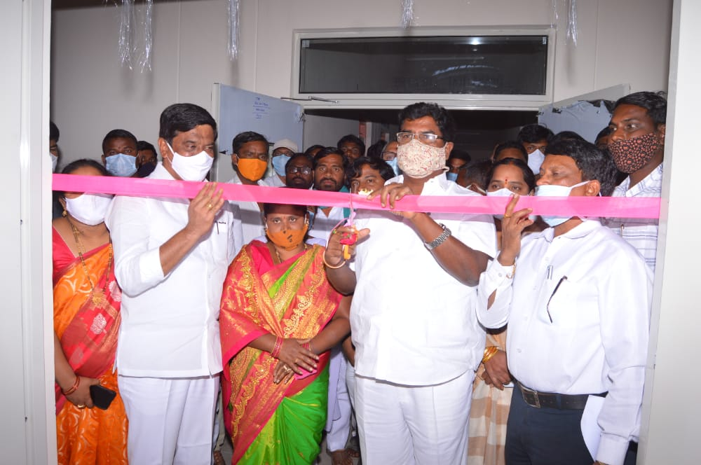 inauguration of the 30-bed government hospital at the Jukkal Mandal Center