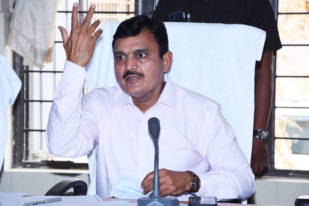 Palle Pragathi review Meeting by District Collector