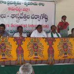 Farmer scientists interaction program at rythuvedika Posanipet cluster Ramareddy Mandal.