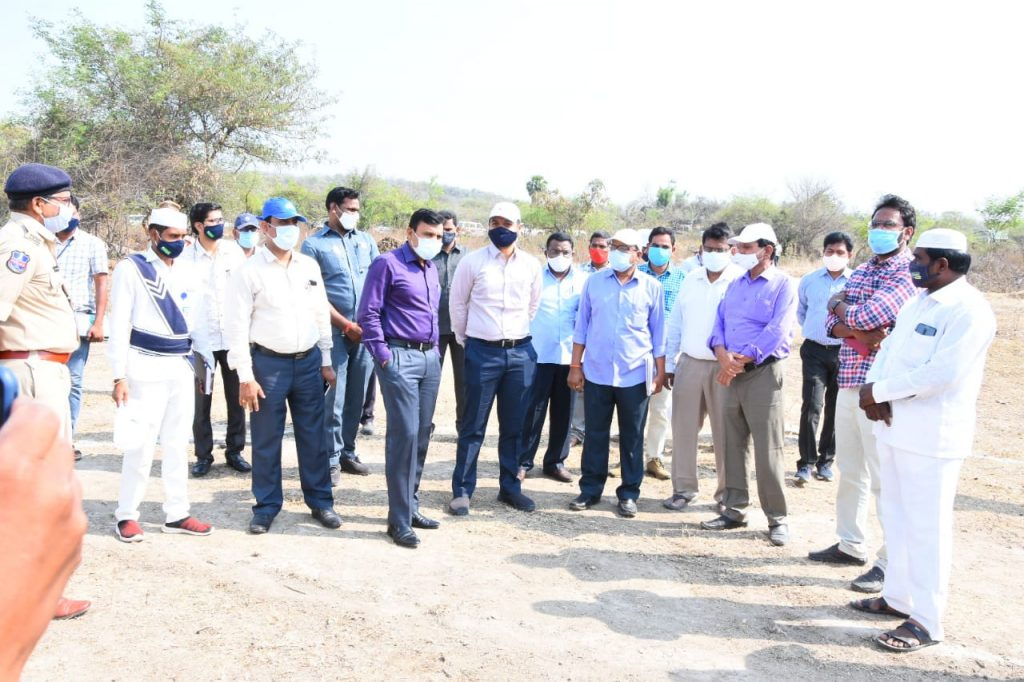 The District Collector reviewed the ongoing Arrangements