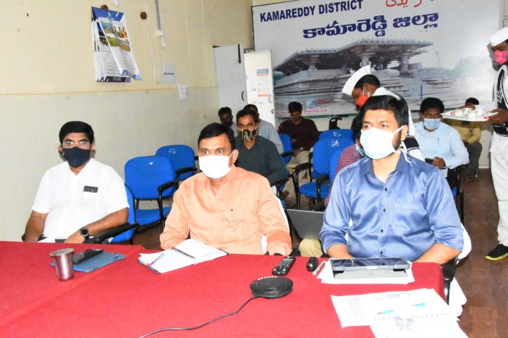 State Chief Secretary Reviewed the Corona Control Measures with District Collectors