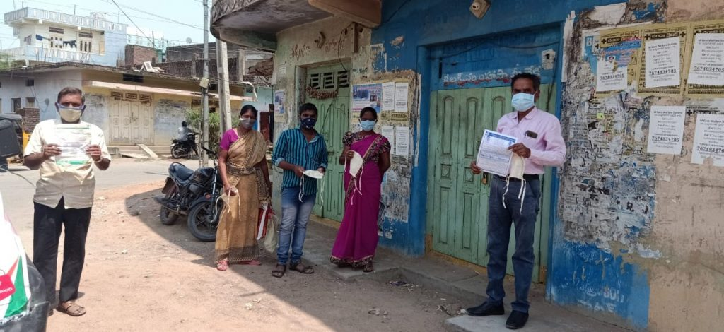 Covid-19 Prevention and Control Was Widely Publicized By Mass media Officials at Kamareddy Town