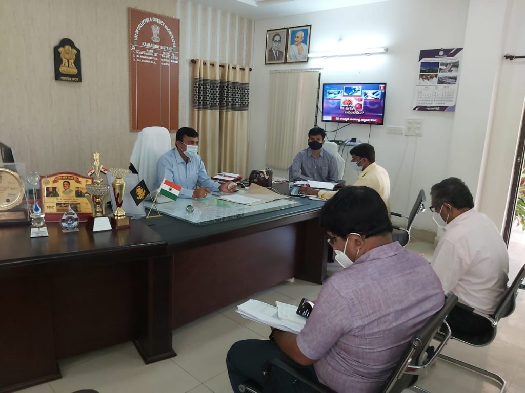 Collector held a Meeting with ICDS and Medical Officials