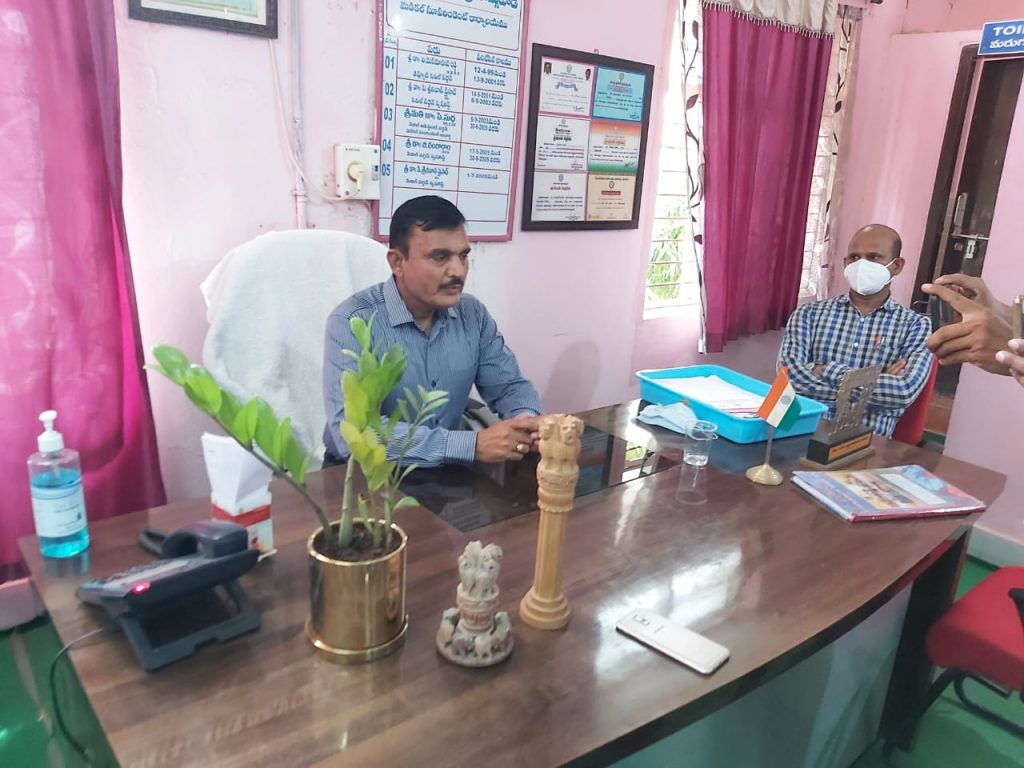 The District Collector visited Banswada Area Hospital