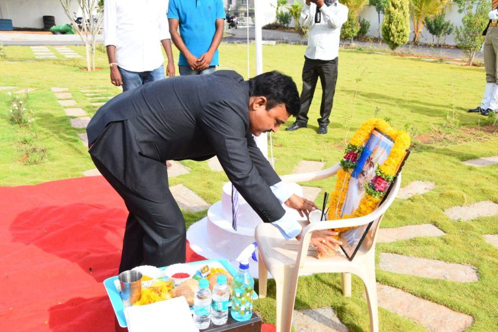 కలెక్టర్ క్యాంప్ కార్యాలయంలో తెలంగాణ రాష్ట్ర అవతరణ దినోత్సవ వేడుకలు
