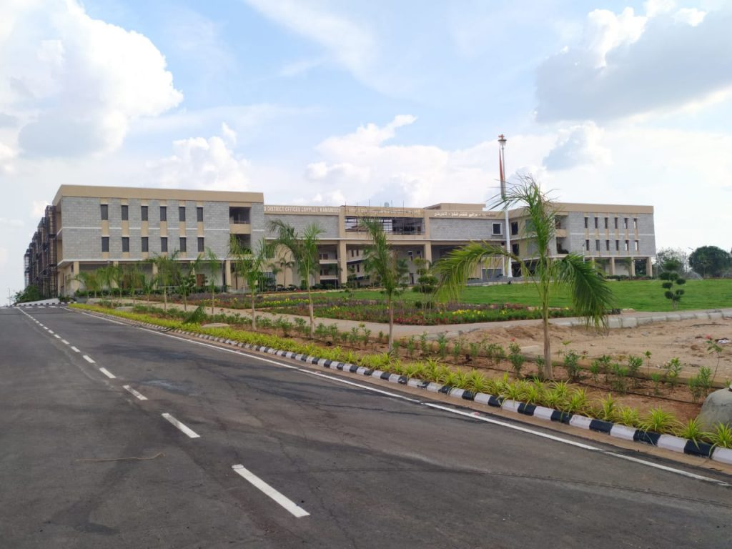 Newly Constructed Collectorate complex