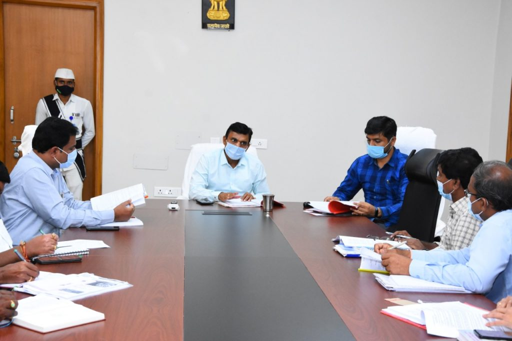 The District Collector conducted the Lay Out Committee meeting at Kamareddy Collectorate