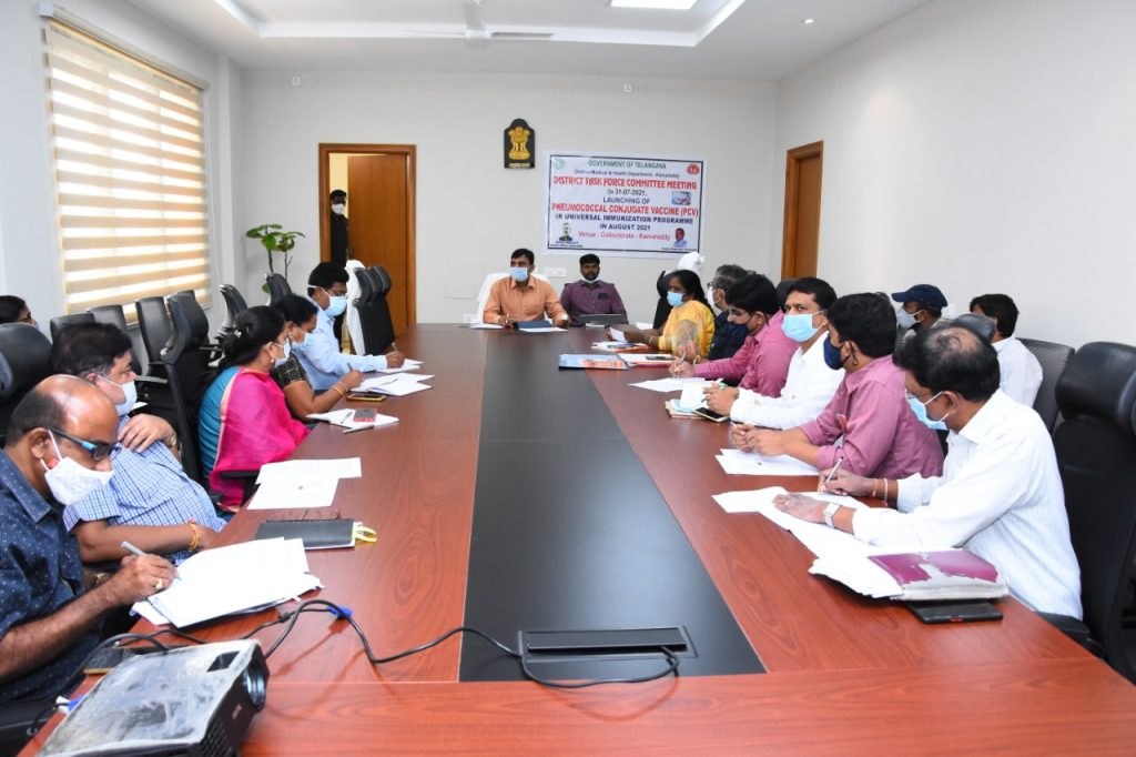 DISTRICT TASK FORCE COMMITTEE MEETING AT COLLECTOR CONFERENCE HALL