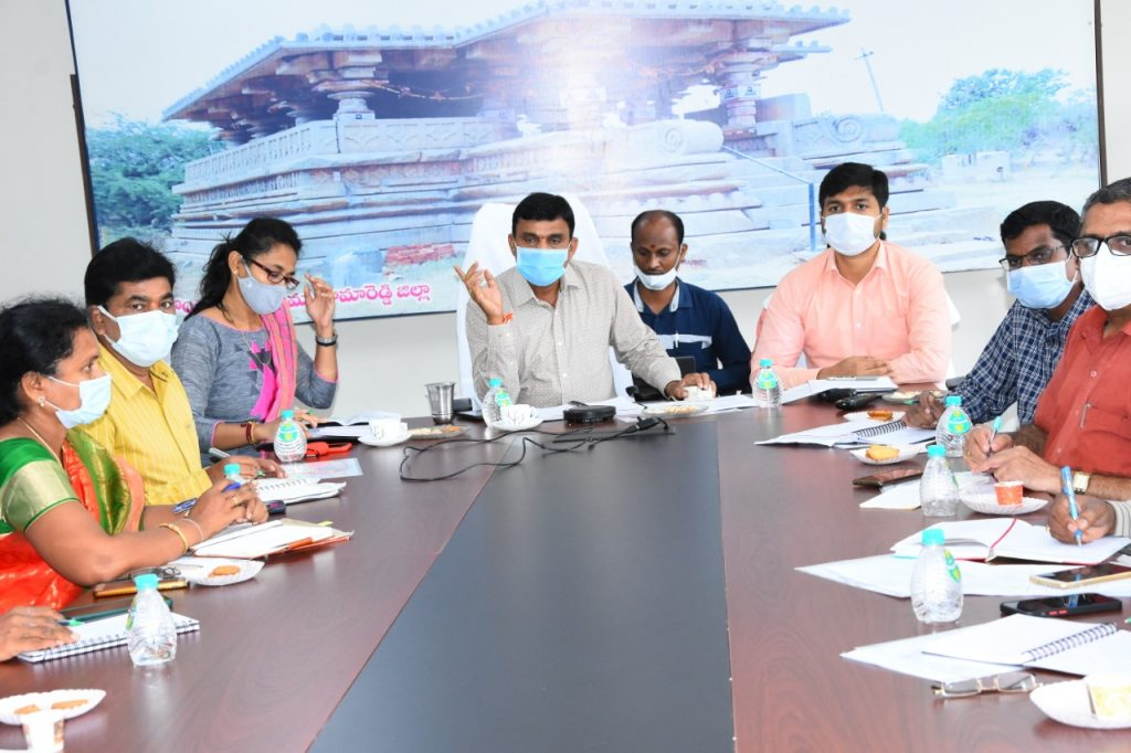 State Panchayati Raj Minister Errabelli Dayakar Rao and State Education Minister Sabita Indrareddy have issued Several Directives to Clean up Educational institutions and hostels and make Covid arrangements by August 30.