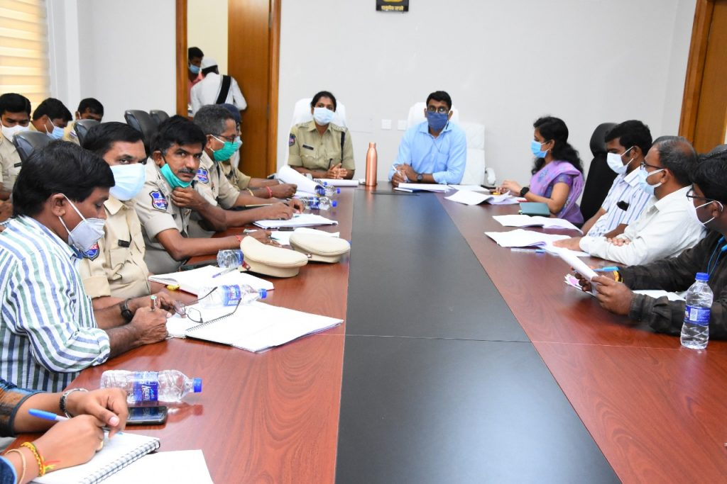 The District Road Safety Committee held a review meeting in Conference hall of the Collectorate.