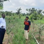 Horticulture Department for production of quality plant material for District farmers
