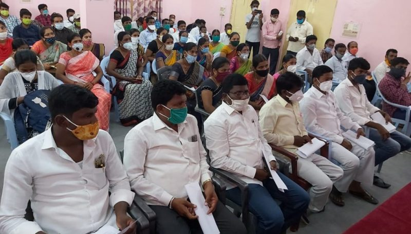 Palle Pragathi Programme Review Meeting in Machareddy-District Collector