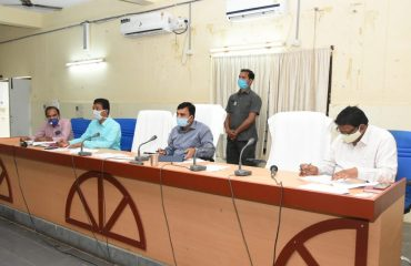 Review meeting with IKP officials
