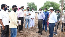 Rythu Vedhikalu Construction Inspection in Tadwai and Gandhari Mandals
